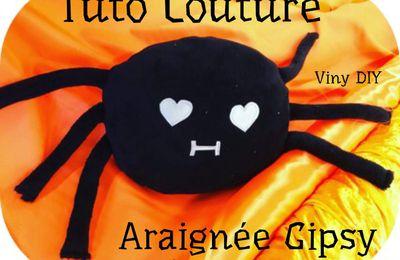 Coussin Doudou Araignée Gipsy - Tutoriel Couture DIY