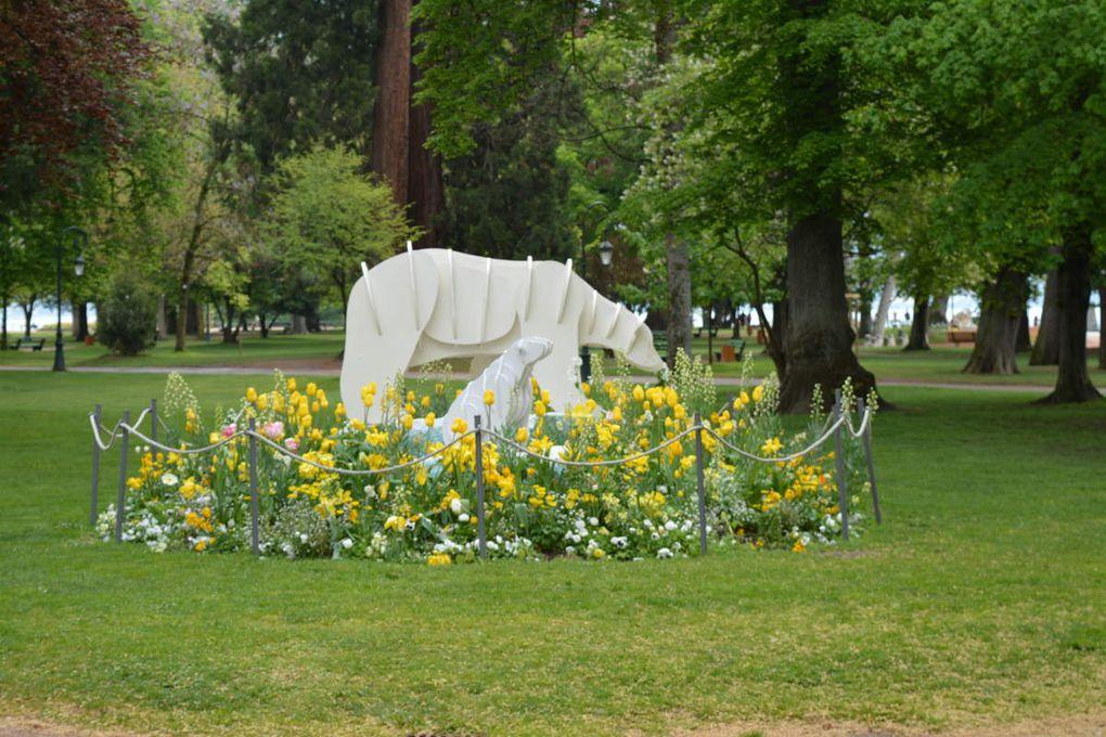 Annecy à la fin avril