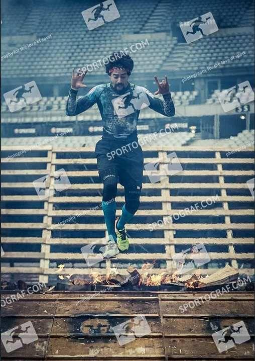 la SpartanRace Stade de France 2019 5Km 20 Obstacles