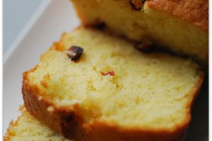 Cake Citron - Cranberries