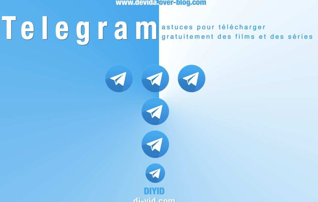 Comment télécharger gratuitement des films et des séries avec Telegram