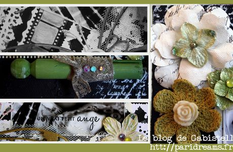 La ronde de Give your Scrap et une invitation