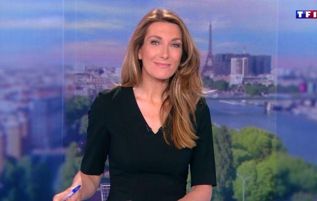 LE 20H WEEK-END d'ANNE-CLAIRE COUDRAY le 2016 05 14 sur TF1