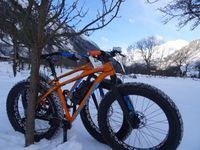 "Fat bike Fatboy Specialized ""upgrader"" : modification, amélioration."