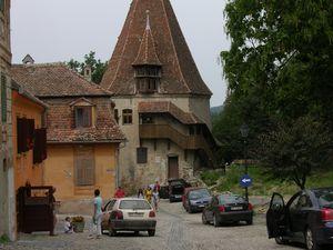 Sighisoara, Roumanie en camping-car