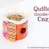 Gift Idea: Quilted Cozy For Holiday Goodie Tin's - Scattered Thoughts of a Crafty Mom by Jamie Sanders