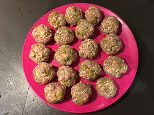 Boulettes de dinde aux olives