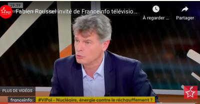 Fabien Roussel invité de Franceinfo télévision - lundi 11 janvier