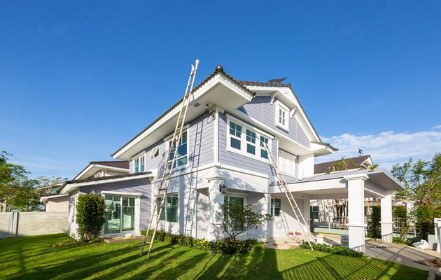Why Does Exterior House Paint Degrade And Fail With Time?