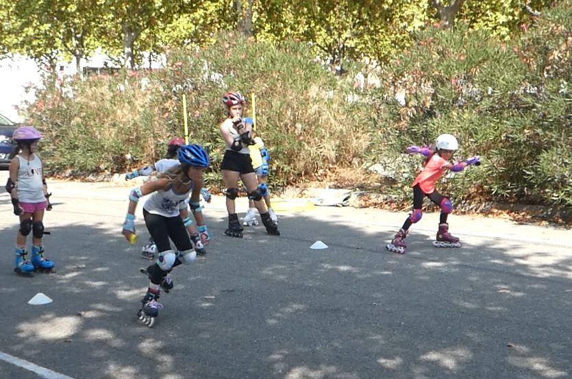 Roller Nîmes, lib, cours, extérieur, plein air, libre, patin, essai, gratuit, pret, materiel,