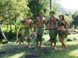 Le Marae Arahurahu à Paea