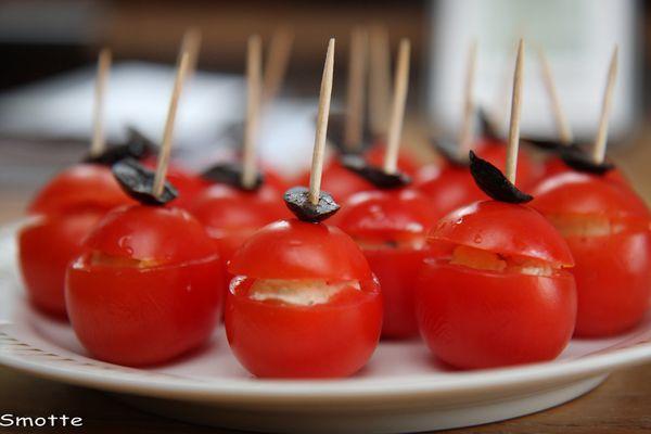 Tomates cerises apéritives