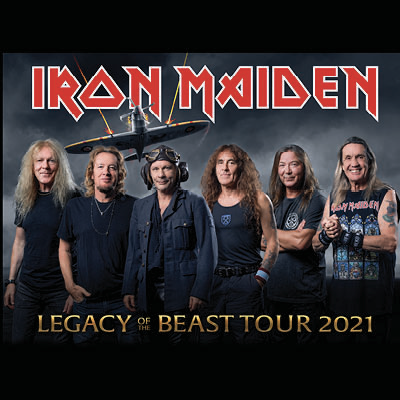 Direction Mexico City pour une Nuit Mortelle avec IRON MAIDEN  - NIGHTS OF THE DEAD - Live Officiel - LOUD TV Webzine - Webzine - Chronique