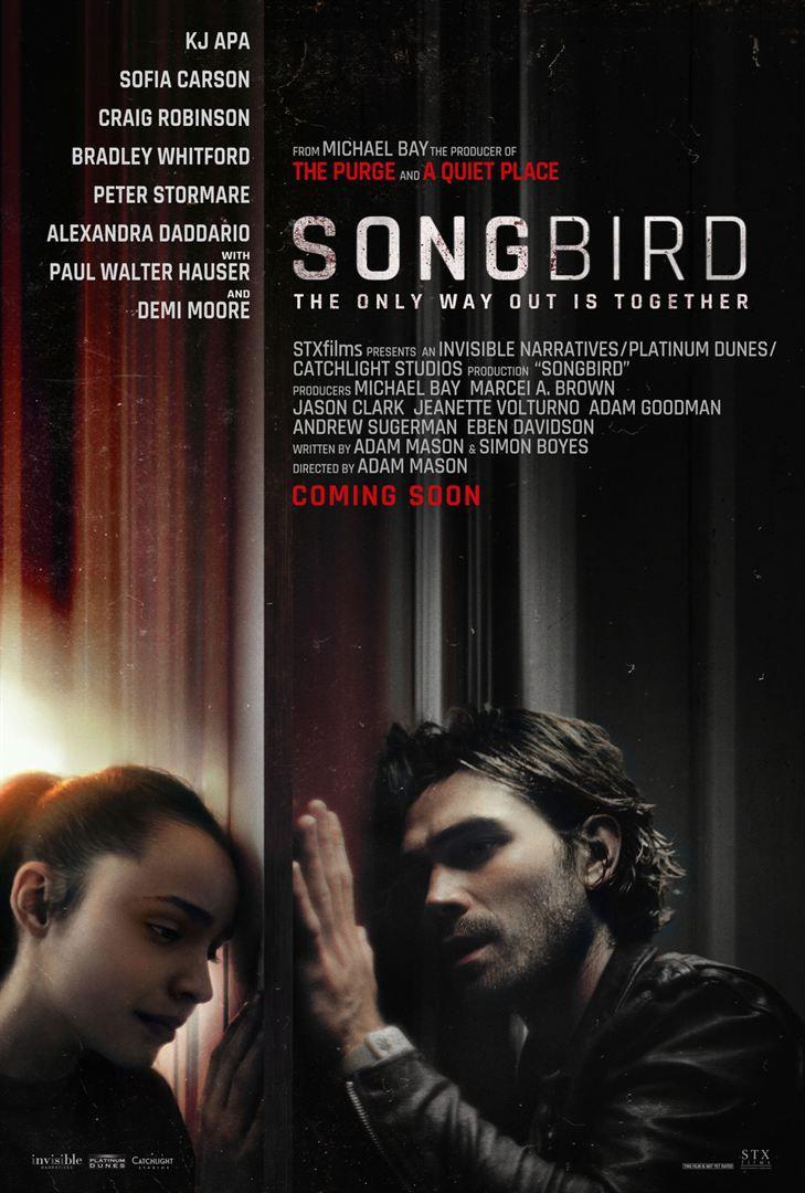 Songbird (BANDE-ANNONCE) avec K.J. Apa, Sofia Carson, Demi Moore