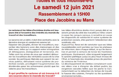 Mobilisation Samedi 12 Mai 2021