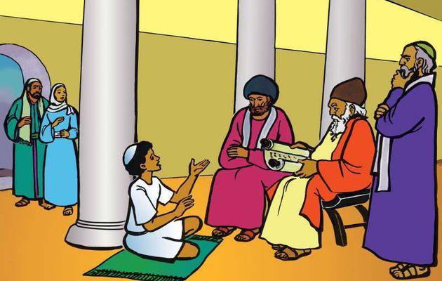 14. Jésus enfant dans le Temple
