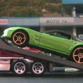 BACK SLIDER CAMION HOT WHEELS 1/64 - car-collector.net