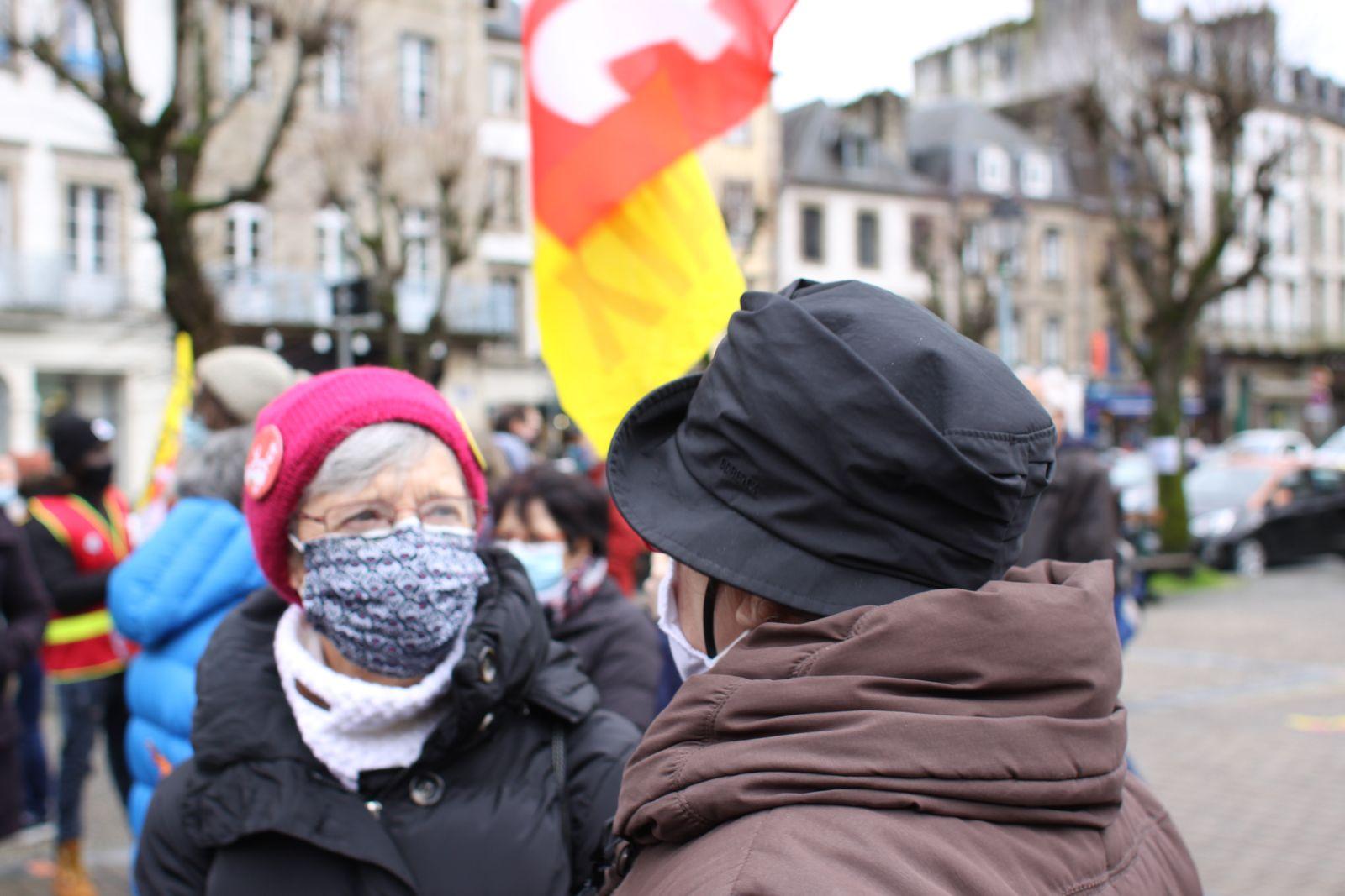 Manif pour la régularisation des sans-papiers à Morlaix - supplément de photos ( Jean-Luc Le Calvez)