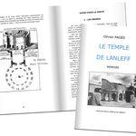 Réédition ouvrage Olivier Pagès pour l'association Le Temple de Lanleff