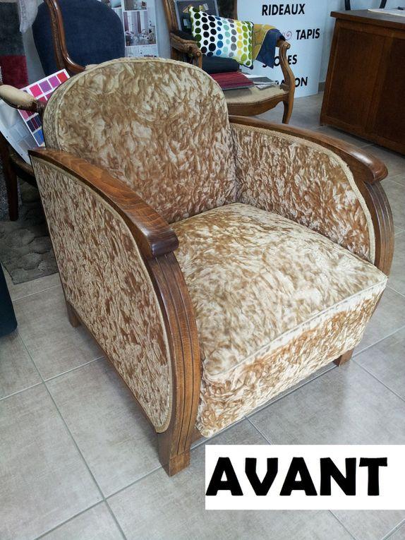 ARABESQUE La decoration sur mesure THIERS Puy de Dome 63 TAPISSIER DECORATEUR fauteuil rideaux stores tissus