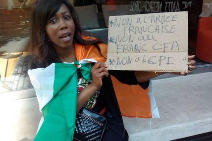 #CélestineAToutDit / Non à l'armée française ! Non au CFA ! Non à la CPI ! (#100Commentaires)