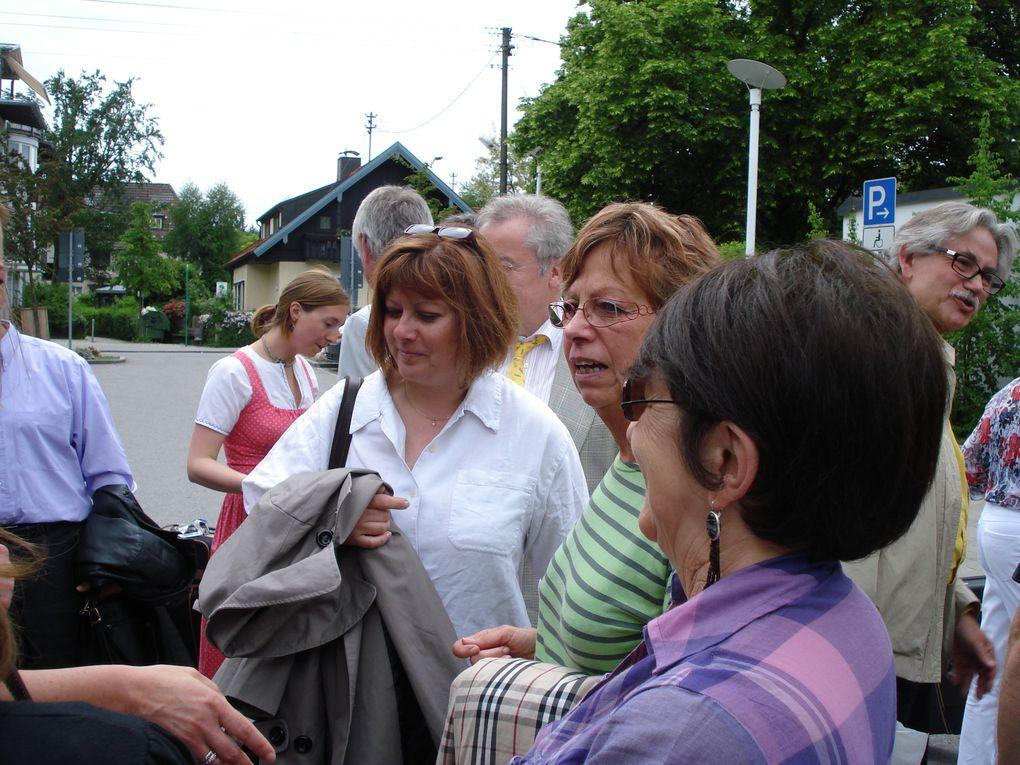Accueil de la délégation française à Neubiberg le 21 Mai 2009