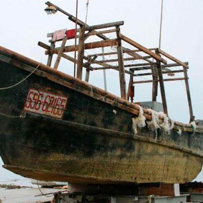 Los barcos fantasmas de Japón