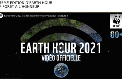 """27 mars 2021 : Quinzième édition de """"Earth Hour"""" dédiée aux forêts"""