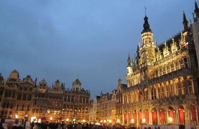 La Grand'Place à Bruxelles