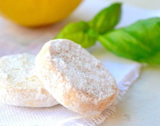 Biscuits Au Citron & au Basilic