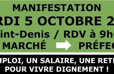 Tract mobilisation du 05/10/2021