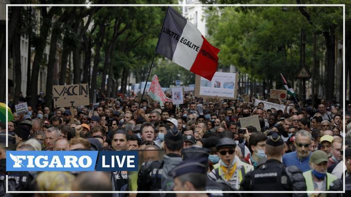 Manifestations des 24 & 17 Juillet 2021 contre le pseudo PaSS-Sanitaire, Nazitaire et ces mesures injustes et liberticides - MAJ du 26/07/2021.