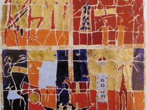 """HM Moulay """"African women"""" (2002)"""