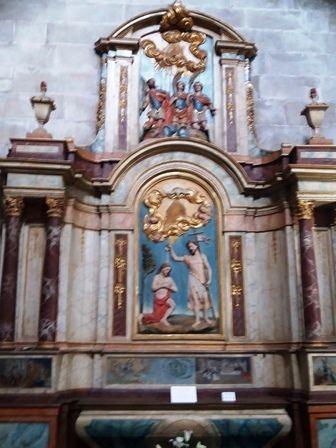 Ancienne église du monastère de Poio, devenue église paroissiale.