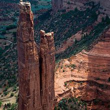 Spider Rock, Canyon