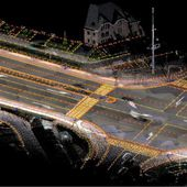 """Comment une voiture autonome """" voit """" la route selon Civil Maps : cartes 3D, cartographie 6D, cartes semantiques ... - OOKAWA Corp."""