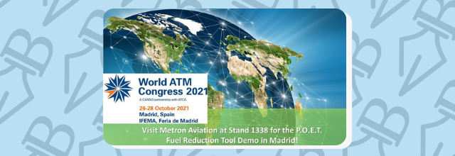 Fuel Reduction Tool Demo at 2021 World ATM Congress