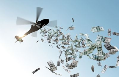 Helicopter money :
