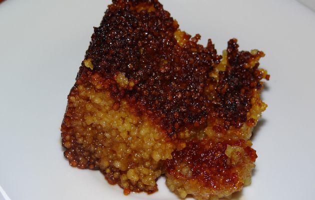 Namoura : gâteau de semoule à la rose et fleur d'oranger