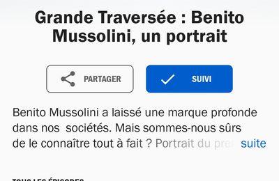 Grande traversée : Mussolini