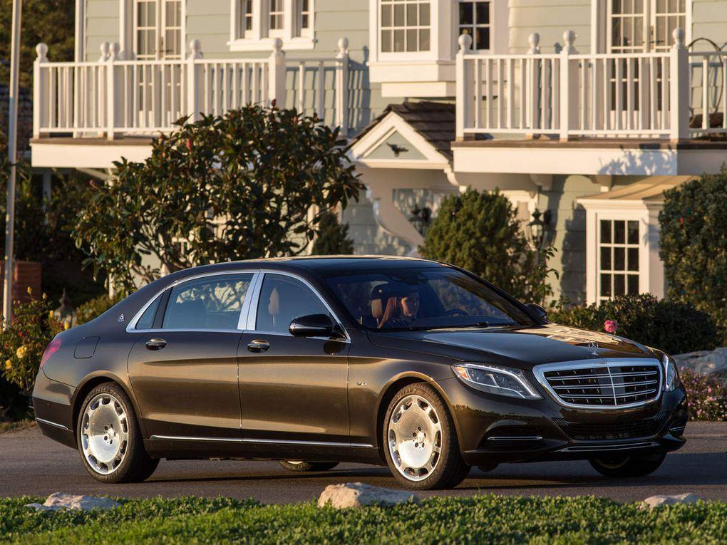 VOITURES DE LEGENDE (498) : MAYBACH MERCEDES  S600  USA - 2015
