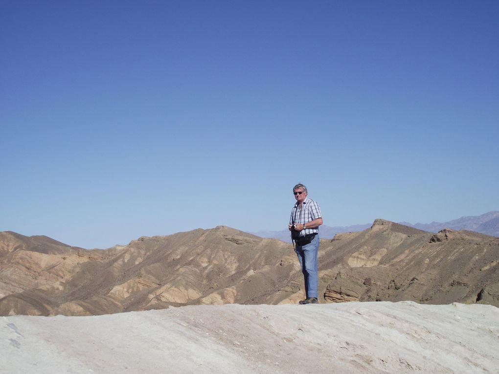 Voyage dans l'Ouest Américain... Belle mais inquiètante vallée de la mort ...