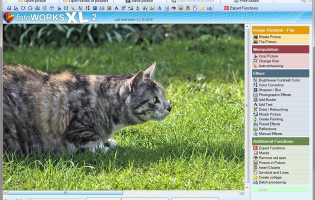 Brilliant photo editor for Windows 10