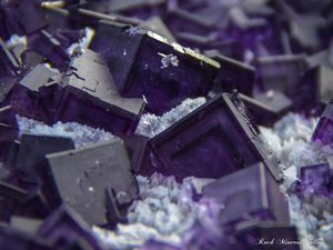 Fluorite from Huanggangliangmine, Cifeng Keqi, Inner Mogolia, China (size: Cabinet)