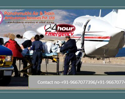 Select Trustworthy Air and Train Ambulance Service in Nashik with All-inclusive Medical Benefits