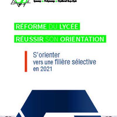 Guide de la reforme et de l'orietation 2021 IPESUP