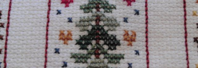Broderie hivernale