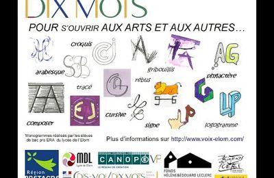 """""""Dis moi dix mots sous toutes les formes"""" : une rencontre inter-lycées à Brest"""