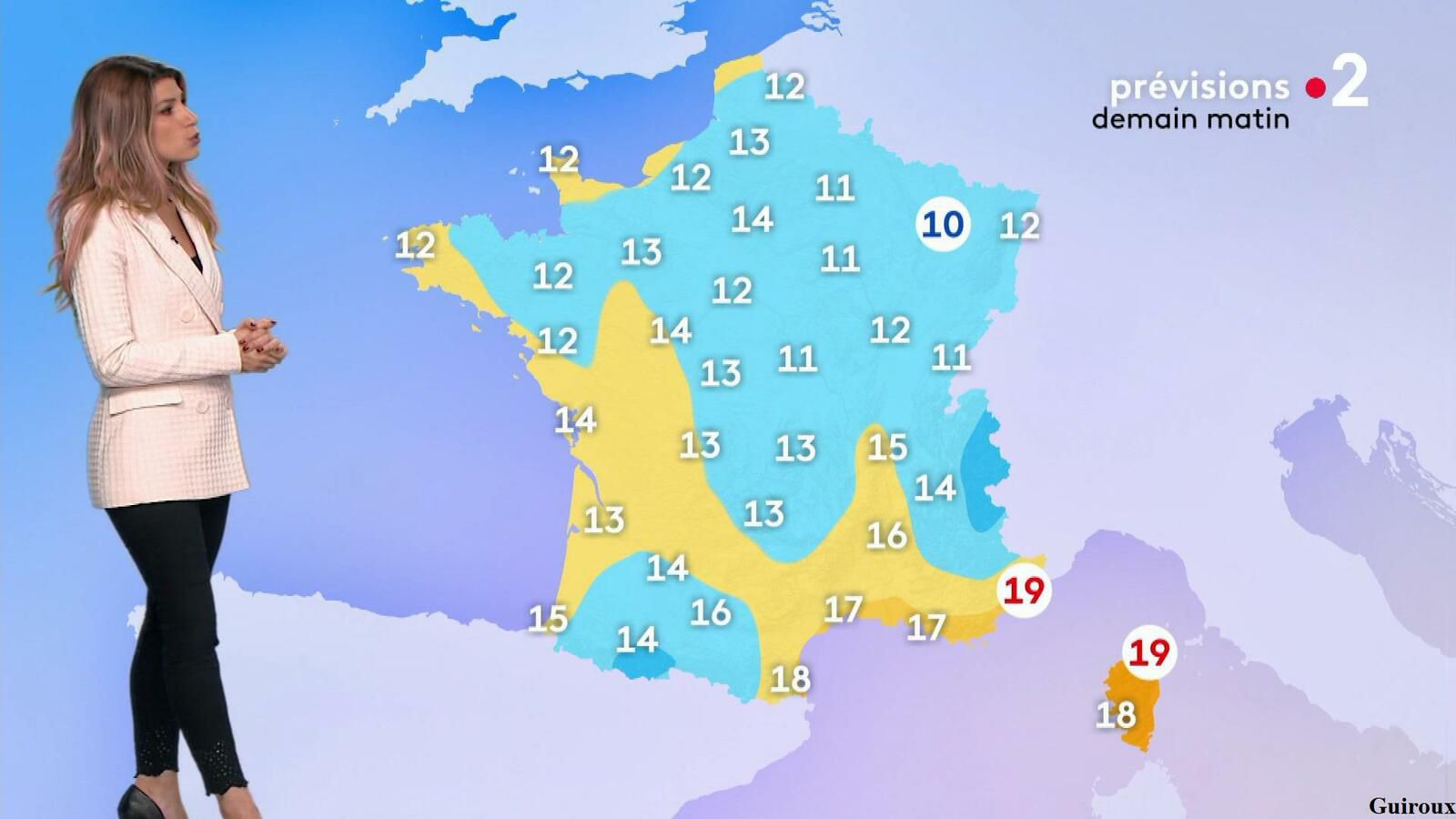 Chloé Nabédian 16/09/2021 Journaux météo du midi