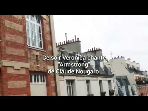 Armstrong Claude Nougaro version lyrique a capella par Veronica Antonelli Paris confinement